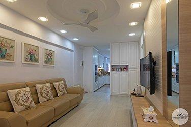 Amik Ave Interior Design and Renovation in Singapore