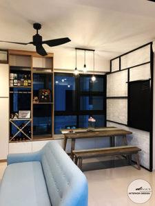 Fernville Close Interior Design and Renovation in Singapore